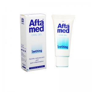 Aftamed Oral Gel Teething Τζελ για Ανακούφιση από τον Πόνο της Πρώτης Οδοντοφυΐας 15ml.