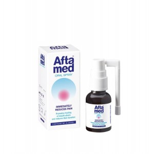 Aftamed Oral Spray Εκνέφωμα για τις Άφθες 20ml.