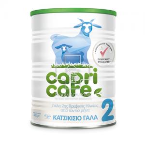 Capricare Γάλα 2ης Βρεφικής Ηλικίας 400gr
