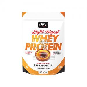 QNT - Light Digest Whey Protein Γεύση Cream Brulle 500g