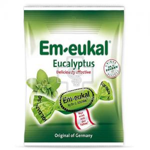 Em-eukal 75gr Καραμελες  Ευκάλυπτου χωρις ζαχαρι