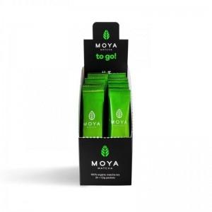 Moya Matcha To Go! Πράσινο Τσάι 12x1,5g.