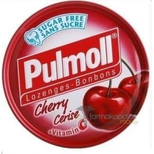 Pulmoll Cherry Sense Καραμέλες για το βήχα με γεύση Aγριοκεράσο 50g