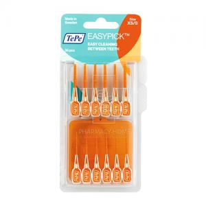 TePe Easypick Ελαστικές Οδοντογλυφίδες Μέγεθος XS/S 36 Τμχ.