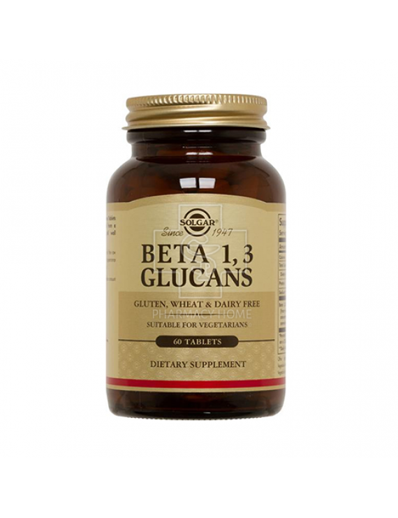 Solgar - Beta 1,3 Glucans tabs 60s
