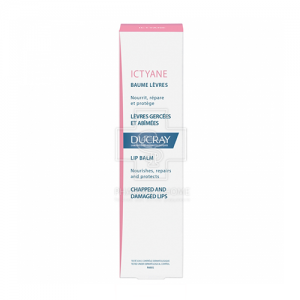 DUCRAY ICTYANE LIP BALM CHAPPED AND DAMAGED LIPS15ML