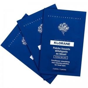 Klorane Patches για κουρασμένα μάτια με καλαμποκάλευρο (7sach x 2 patches)