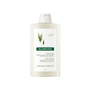 Klorane Shampoo Lait D' Avoine Renov Σαμπουάν με γαλάκτωμα βρώμης για καθημερινή ενυδάτωση 400ml