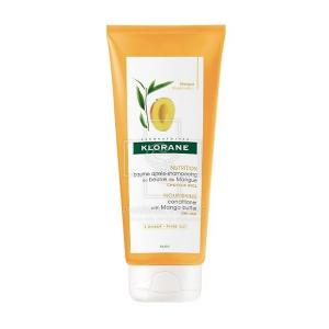 Klorane Conditioner Mangue Butter Μαλακτική Κρέμα για Ξηρά Μαλλιά 200ml.