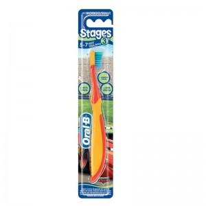Oral-B - Stages 3: Οδοντόβουρτσα για παιδιά 5 - 7 χρονών