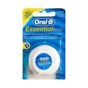 Oral-B Essential Floss Ακηρωτο Οδοντικο Νημα  50m