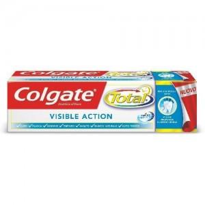 Colgate Total Visible Action-Αντιβακτηριδιακή Οδοντόκρεμα Ενεργής Τεχνολογίας Κατά την Διάρκεια του Βουρτσίσματος, 75ml