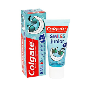 Colgate Smiles Junior Παιδική Οδοντόκρεμα κατά της Τερηδόνας 6+ Ετών (50ml)