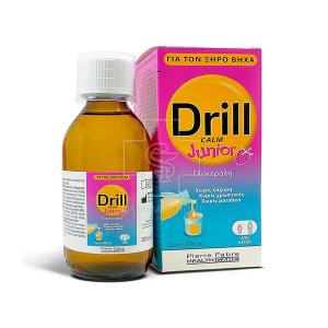 Pierre Fabre Drill Calm Junior Παιδικό Σιρόπι για τον Ξηρό Βήχα 200ml