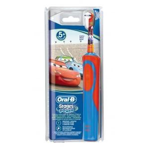 Oral-B Vitality Kids Stages Power Cars - Ηλεκτρική οδοντόβουρτσα για αγόρια 3+