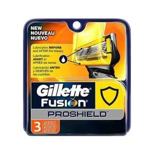 Gillette Fusion Proshield Ανταλλακτικά με Τεχνολογία Flexball, 3 ανταλλακτικά