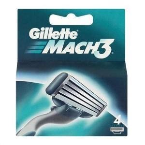 Gillette - GILLETTE MACH 3 4 Tεμαχια
