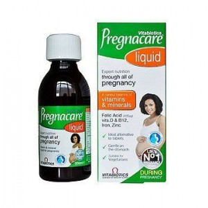 Vitabiotics Pregnacare Liquid Πόσιμο Συμπλήρωμα για τη Διατροφική Υποστήριξη των Γυναικών Κατά την Περίοδο της Εγκυμοσύνης 200m