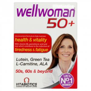 Vitabiotics Wellwoman 50+, 30tabs