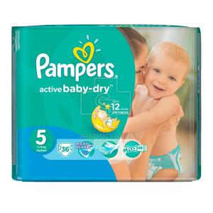 Pampers Pampers Active Baby-Dry Πάνες Μέγεθος 5 (Junior) 11-18Kg 36 Πάνες