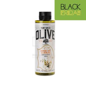 Korres Pure Greek Olive Shower Gel Honey Αφρόλουτρο με Άρωμα Μέλι, 250ml