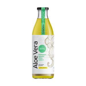CollaGEN Aloe Vera Απόσταγμα Φυσικής Αλόης, χωρίς ζάχαρη.1000ml