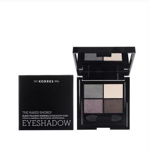 Korres Black Volcanic Minerals Eyeshadow Quad -The Naked Smokey 5g