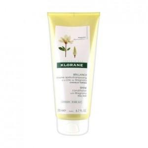 Klorane Shine Conditioner Magnolia Μαλακτική Κρέμα για Θαμπά Μαλλιά 200ml