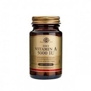 Solgar Vitamin A 5000IU, 100 tabs