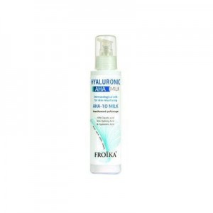 Froika Hyaluronic AHA-10 Milk Αναπλαστικό Γαλάκτωμα Προσώπου & Σώματος με Οξέα, 125ml