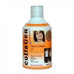 Medichrom Collagen Energy Liquid Collagen with Hyaluronic Acid (με γεύση λεμονι) 500ml