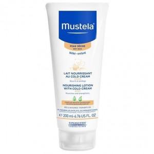Mustela Lait Nourrisant Au Cold Cream Βρεφικό Γαλάκτωμα Σώματος για Ξηρό Δέρμα 200ml