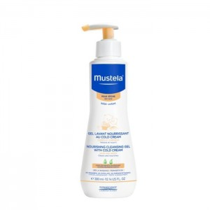 Mustela Gel Lavant au Cold Cream Καθαριστικό Τζελ για θρέψη με Cold cream, για σώμα & μαλλιά, 300ml