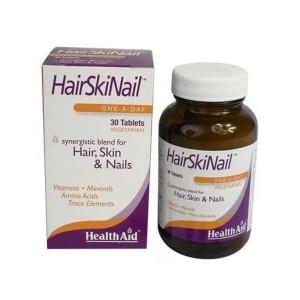 Health Aid Hair Skin Nail Μαλλιά, Δέρμα & Νύχια 30 Tablets