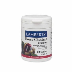 Lamberts Horse Chestnut Complex Σκεύασμα με 4 Βότανα 60tabs.
