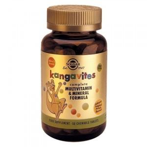 Solgar Kangavites Formula Chewable Tropical 60Tabs