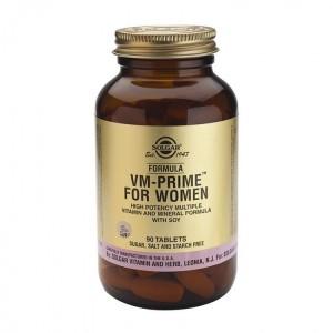 Solgar Formula VM-Prime® For Women Συμπλήρωμα διατροφής 90 Tablets.