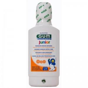 Gum Junior Mouthrinse 7-12 years Στοματικό διάλυμα 300ml