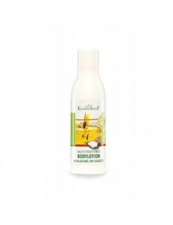 Kräuterhof Firming Body Lotion Bio Argan Oil & Shea Moisturizer Smooth Firm Skin 250ml