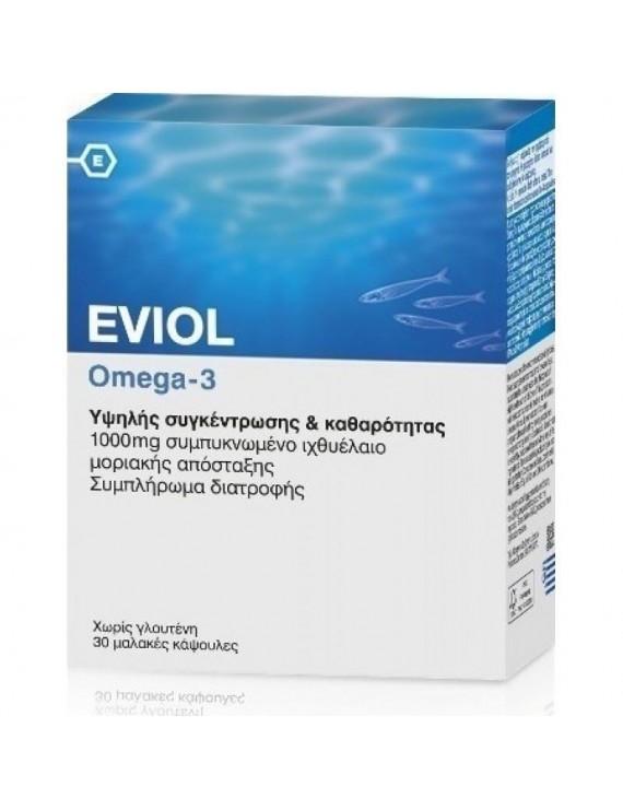 Eviol Omega-3 1000mg 30 Soft Caps