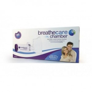 Asepta Breathcare Chamber Adult Συσκευή Εισπνοής Φαρμάκου Με Αντιστατική Βαλβίδα 5+ ετών 1τμχ