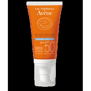 Avene Eau Thermale Emulsion SPF50+ Αντηλιακή κρέμα προσώπου, 50ml