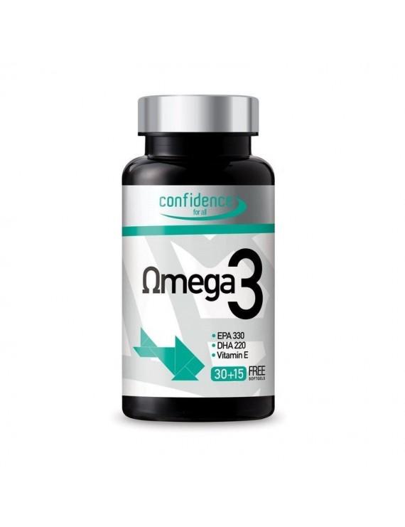Confidence Omega 3 1000mg 45 caps
