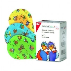 Opticlude Boys & Girl Mini Eye Patches 5cm x 6cm, 20τμχ (2537PF)