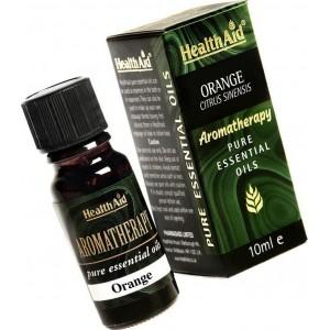 Health Aid Aromatherapy Orange Oil (Citrus Sinensis) 10ml