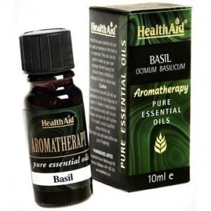 Health Aid Basil Oil (Ocimum Basilicum) 10ml
