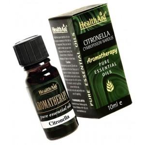 Health Aid Citronella  Pure essential oil 10ml