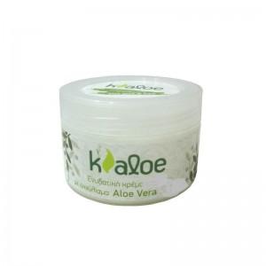 Kaloe Ενυδατική Κρέμα Προσωπου με Εκχύλισμα Aloe Vera & Αμυγδαλελαιο ,Βθτυρο Καριτε 100ml