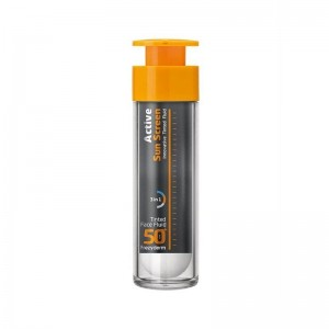 Frezyderm Active Sun Screen Innovative Tinted Cream SPF50+ Αντηλιακή Κρέμα Προσώπου με Χρώμα 50ml.