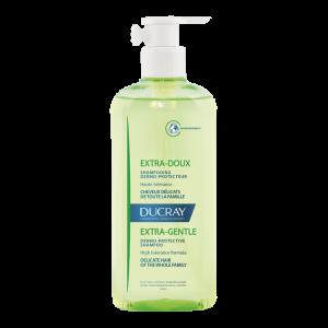Ducray Extra Doux Shampooing Dermo-Protecteur Δερμο-Προστατευτικό Σαμπουάν 400ml(Με Αντλια)